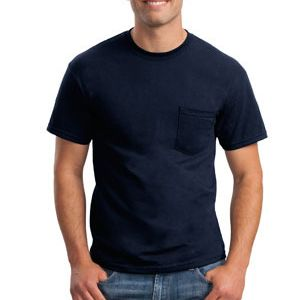 DryBlend ® 50 Cotton/50 Poly Pocket T Shirt Thumbnail