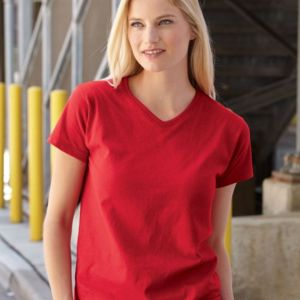 HD Cotton Women's V-Neck T-Shirt Thumbnail