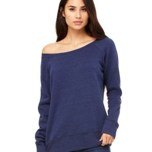 Women's Sponge Fleece Wideneck Sweatshirt Thumbnail