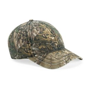 Camo Cap with American Flag Undervisor Thumbnail