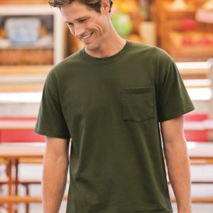 Heavy Cotton HD™ T-Shirt with a Left Chest Pocket Thumbnail