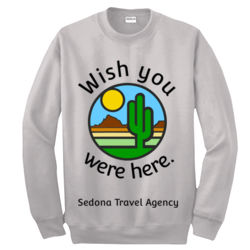 Sedona Travel Agency Staff Crewneck Thumbnail