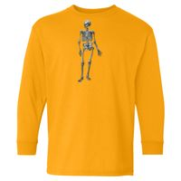 Youth Heavy Cotton Long Sleeve T-Shirt Thumbnail