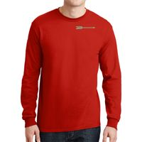 DryBlend ® 50 Cotton/50 Poly Long Sleeve T Shirt Thumbnail